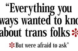 trans questions
