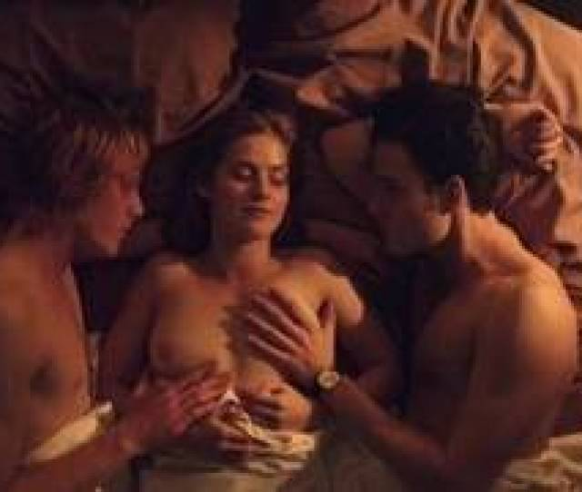 Threesome Sex Scenes With Marie Tourell Soderberg In Film Steppeulven 2014