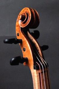 baroque viola head