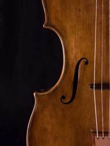Renaissance Viola soundhole all gut strings