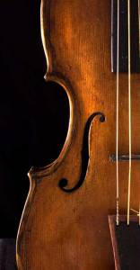 baroque violin soundhole