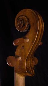 Giovanni Francesco Celoniato scroll cello