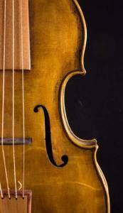baroque violin ff holes