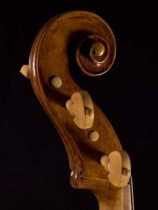 Belgian baroque viola