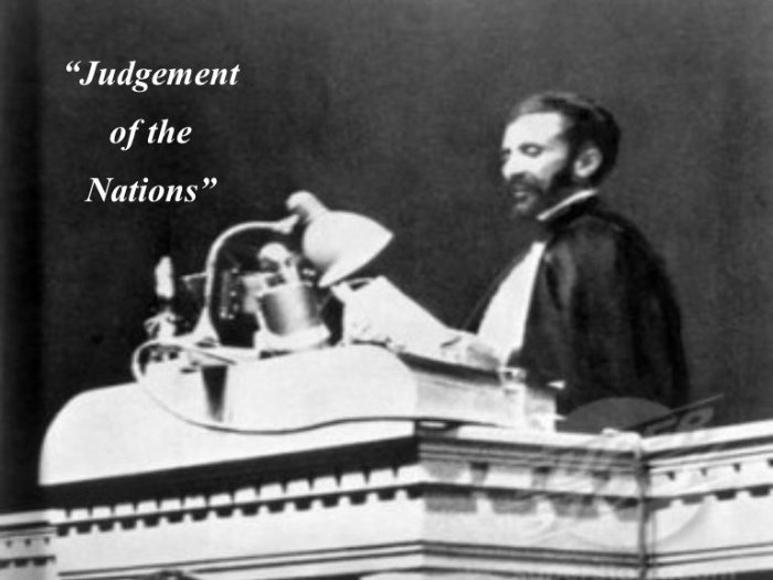 HIM Haile Selassie address League of Nations