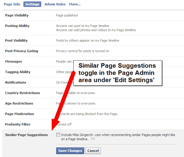 how to turn off your facebook page