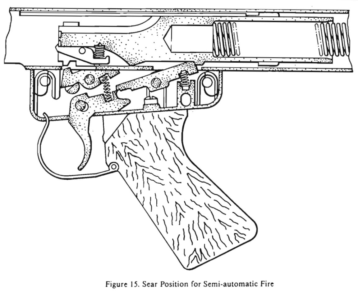 shotgun trigger mechanism diagram