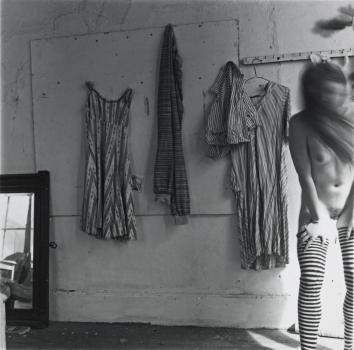 Untitled 1975-80 Francesca Woodman 1958-1981 ARTIST ROOMS Acquired jointly with the National Galleries of Scotland through The d'Offay Donation with assistance from the National Heritage Memorial Fund and the Art Fund 2008 http://www.tate.org.uk/art/work/AR00359