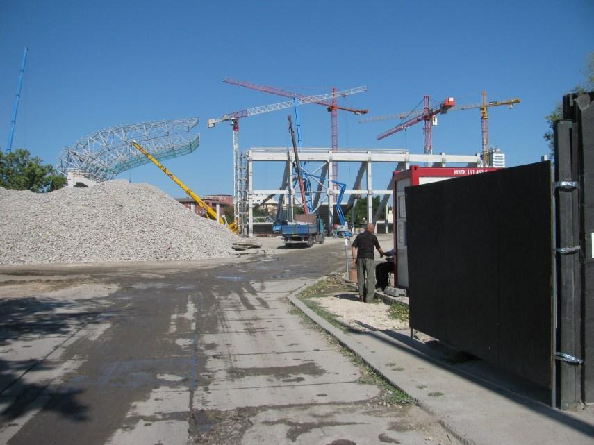Egy pillantás az építkezésre