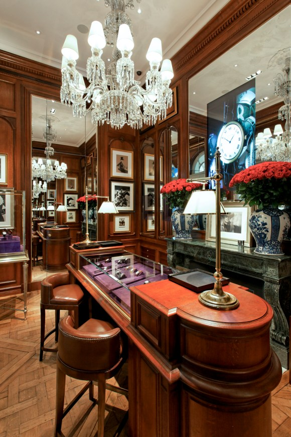 atelierTachas ralphLauren boutique saintGermain paris agencement surMesure menuisier menuiserie