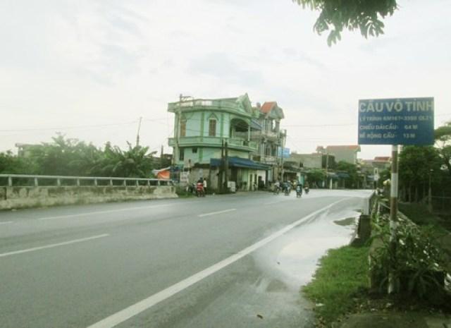 Cầu Vô Tình ở Nam Định.