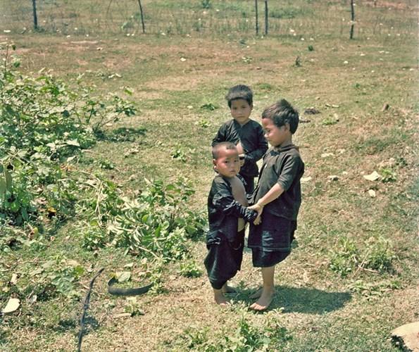 Trẻ em ở xã Hà Thành.
