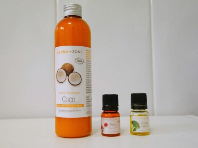 tache de rousseur blog beaute cheveux aroma zone huile coco ricin