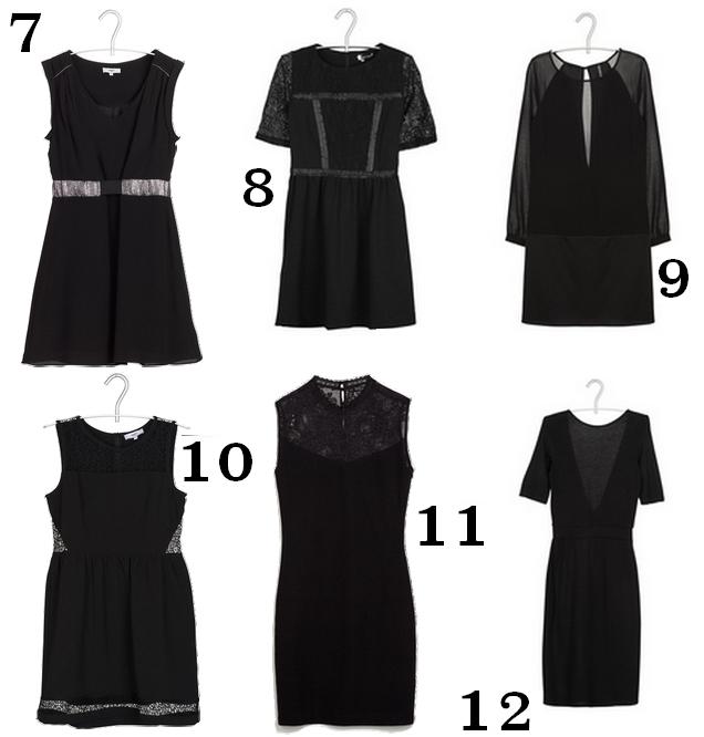 Robes all black noir à moins de 100€ tache de rousseur 2