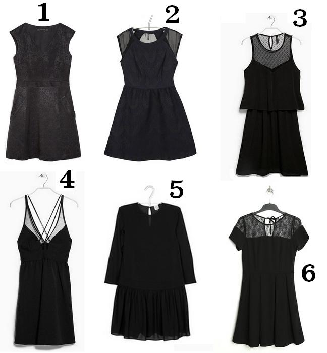 Robes noir à moins de 100€ tache de rousseur 2