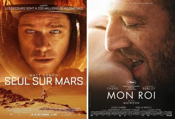 Chronique Ciinéma - Seul sur Mars et Mon Roi