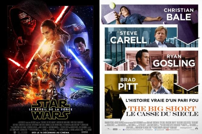 Chronique Ciinéma - Star Wars 7 Le Réveil de La Force + The Big Short Le Casse du Siècle