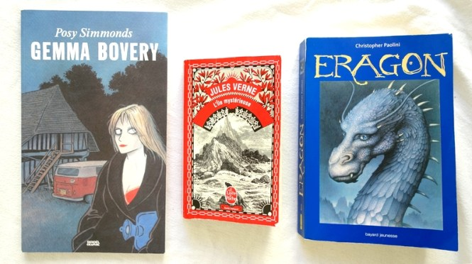 Mes lectures #4 - Gemma Arterton (Posey Simmonds), L'ile mystérieuse (Jules Verne) et Eragon (Christopher Paolini) - Blog Tache de Rousseur (2)