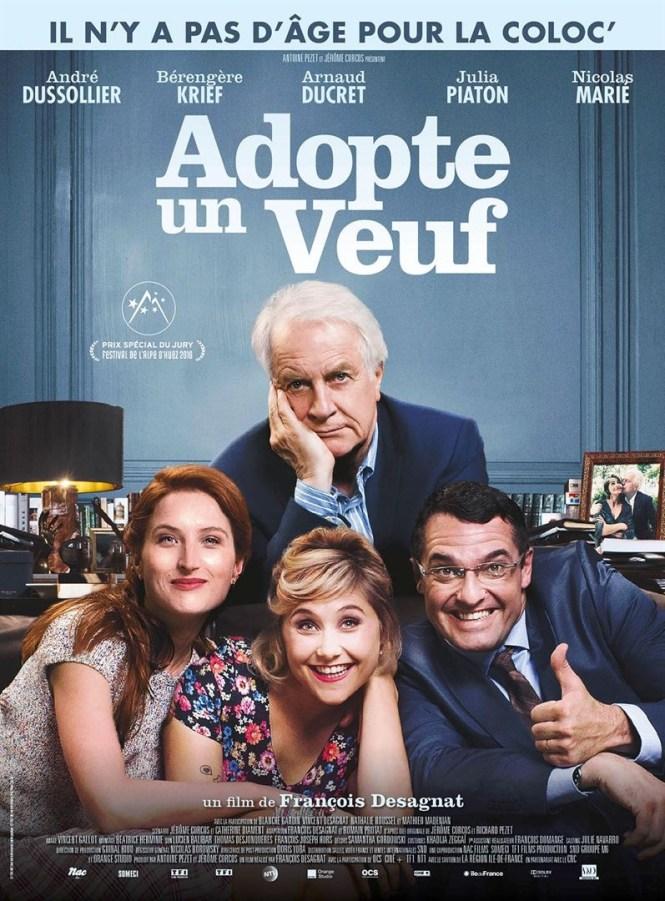 Chronique Cinéma - Adopte un Veuf _ Blog Tache de Rousseur