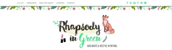 Tache de Rousseur - Mes 10 blogs Green préférés - Rhapsody in Green