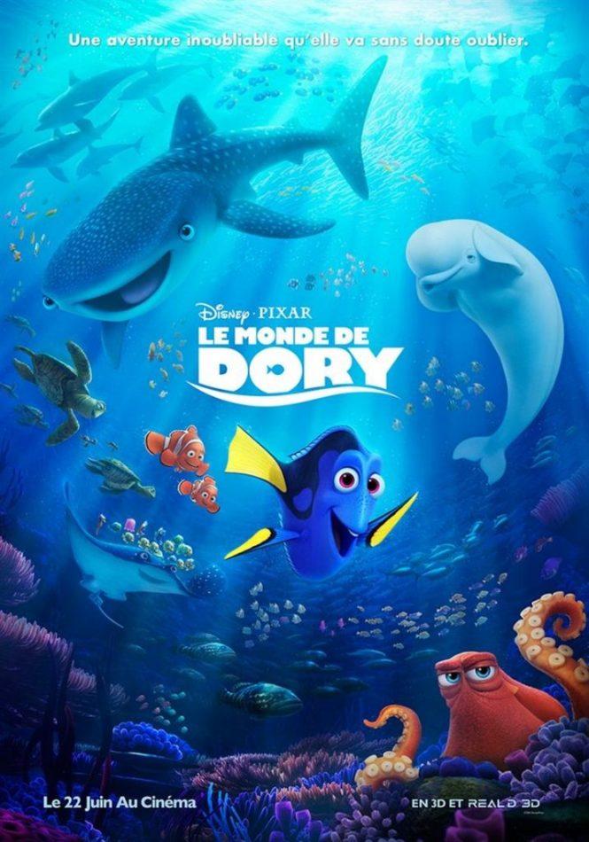 Chronique Cinéma - Le Monde de Dory _ Blog Tache de Rousseur