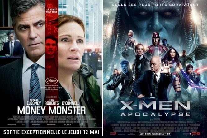 Critique ciné - Money Monster + Xmen Apocalypse - Tache de Rousseu, blog beauté naturelle, lifestyle et voyages