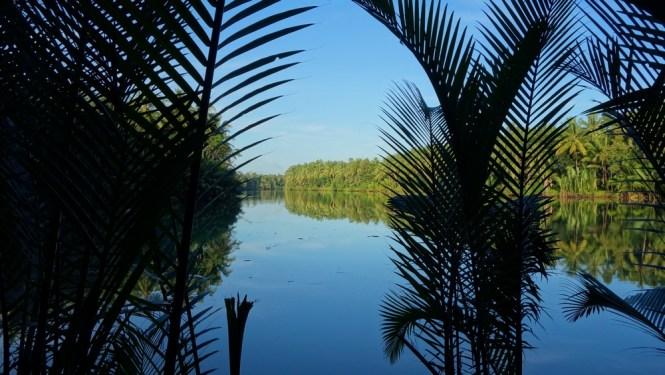 Blog voyage - Indonésie - Java ouest - Le pont en bambou de Batu Karas