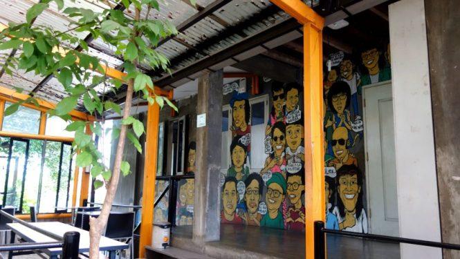Blog voyage Indonésie - Jogjakarta, Kedai Kebun