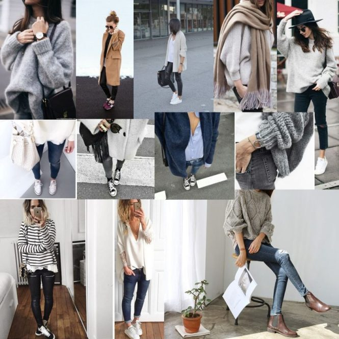 Moodboard : looks cosy et comfy pour l'automne 2016