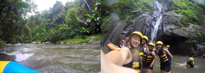 Voyage 1 mois en Indonésie - Rafting Ubud Bali