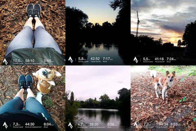 Instagram Application sport running strava