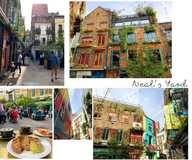 Un long week-end à Londres - Neal's Yard