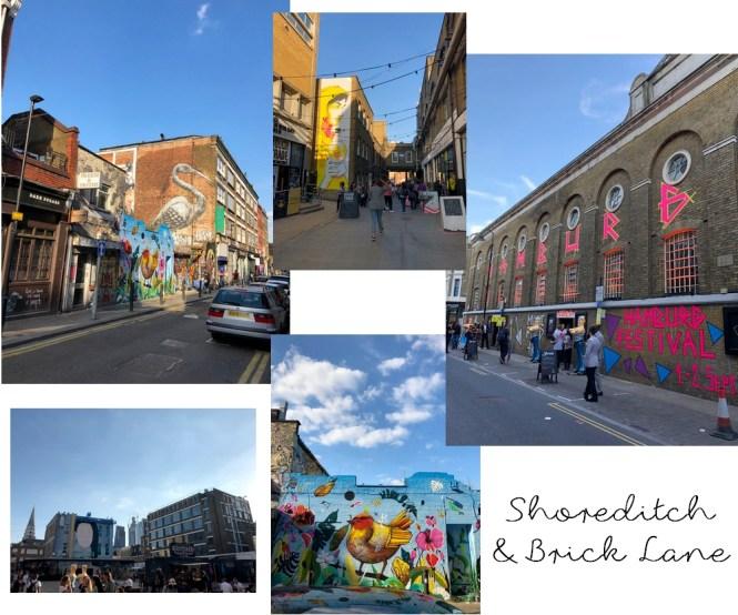 Un long week-end à Londres - Visiter Shoreditch et Brick Lane