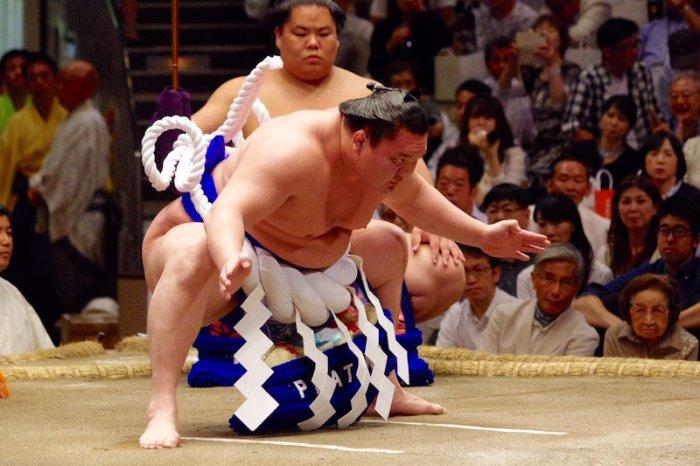 Hakuho-dohyo-iri