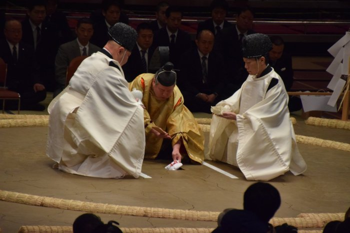 Dohyo-Blessing