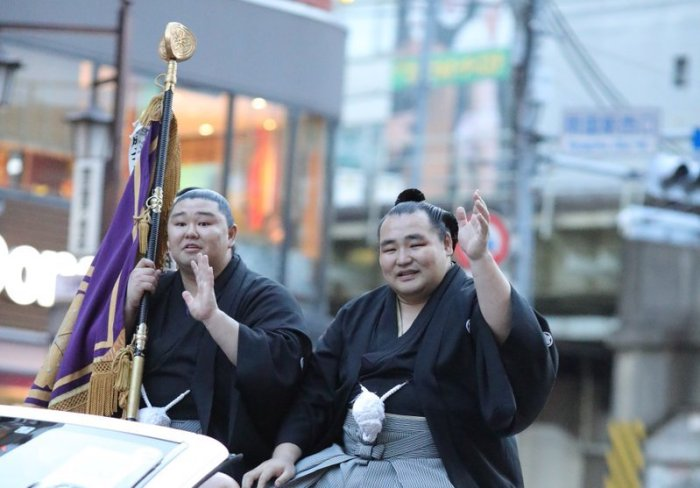Kakuryu Yusho Parade
