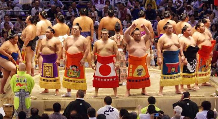 Day 9 Dohyo Iri