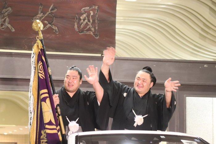 Tamawashi Yusho Parade