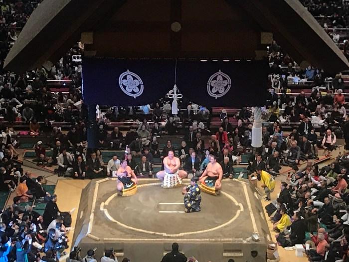 Kisenosato dohyo-iri. Hatsu basho 2019.