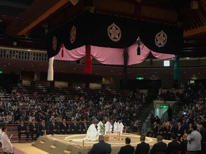 Natsu basho Dohyo Matsuri