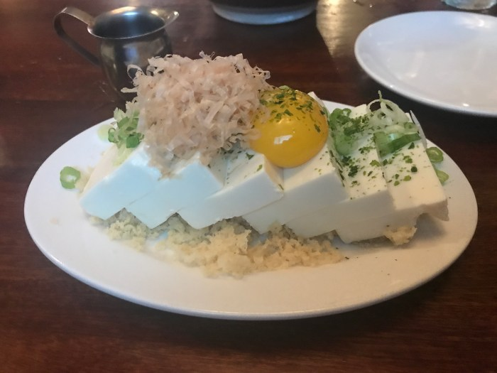 Kinboshi Tofu at Azasu New York