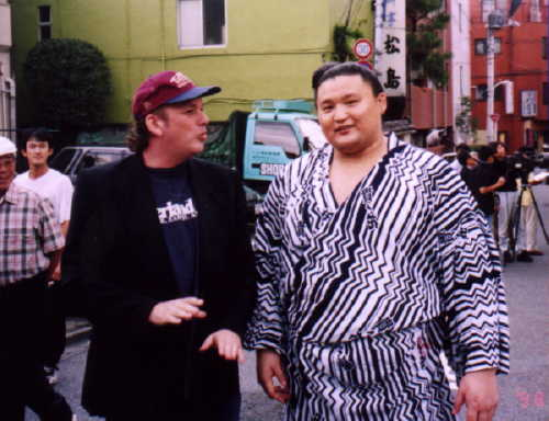 Moti Dichne (Kintamayama) and Takanohana