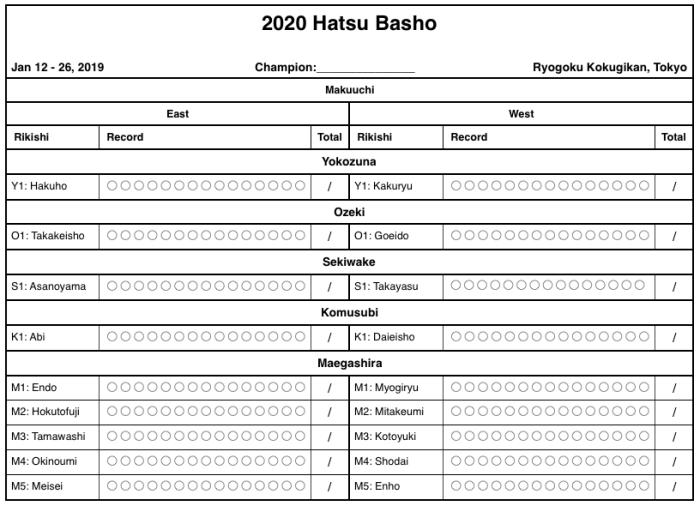 2020 Hatsu