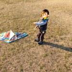 昭和記念公園で凧上げしてきた!