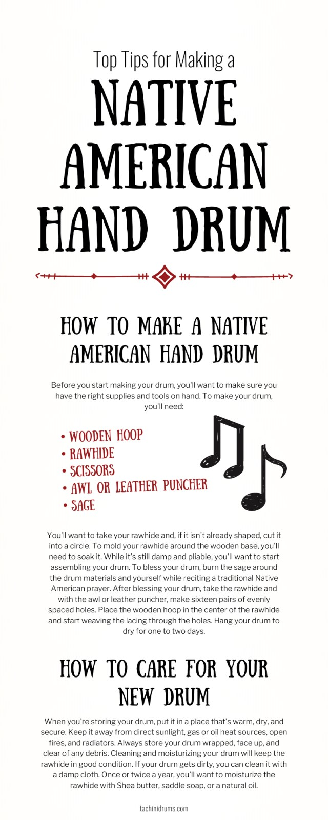 Top Tips for Making a Native American Hand Drum