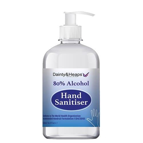 Pump Top Hand Sanitiser
