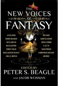 Book cover of The New Voices of Fantasy edited by Peter S. Beagle and Jacob Weisman