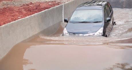Mengemudi Saat Banjir