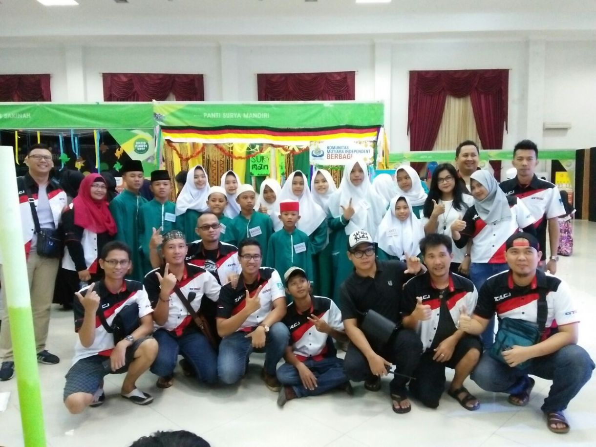 BAKTI SOSIAL EXPO 2017 Bersama TACI Chapter Lampung