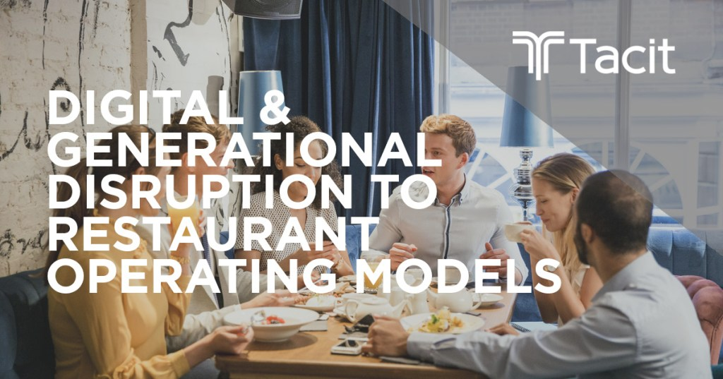 restaurant operating models
